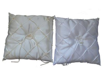 handcrafted wedding ring cushion