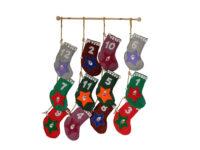 Felt Advent Stockings
