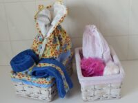 toilet bag gift set