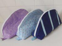 Set of 3 toilet bags