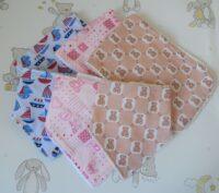 handcrafted bandana bib and burpcloth group