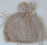 baby's pull on hat
