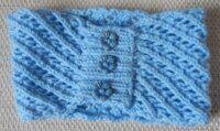 lacey blue earwarmers