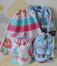 Bag and toilet bag sets