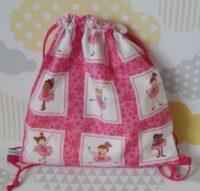 Kid's backpack ballet dancer